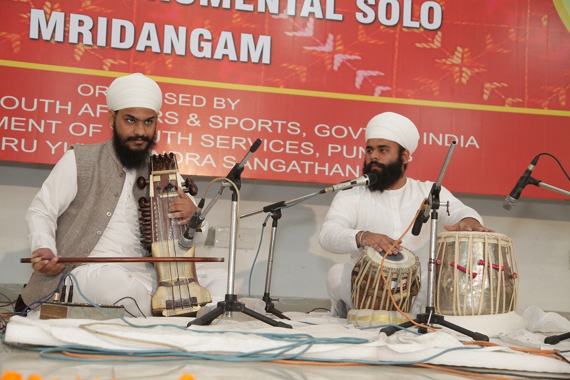 Representing Punjab State in National youth festival in MRIDANGAM CATEGORY held at Punjab Agricultural University in year 2014.